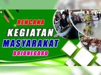Rencana Kegiatan Masyarakat Bojonegoro 12 Oktober 2019