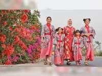 Menikmati Indahnya Bunga Bugenvil saat Kemarau di Bojonegoro