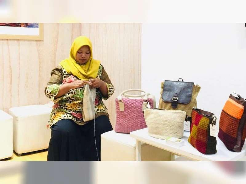 Perempuan Bojonegoro Pamerkan Hasil Karya di Jatim Fair 2019