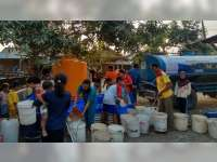 68 Desa di 19 Kecamatan di Bojonegoro Krisis Air Bersih, BPBD Droping 928 Tangki Air Bersih