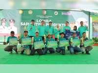 Inilah Pemenang Lomba Sapi Betina Produktif dan Panen Pedet 2019 Kabupaten Bojonegoro