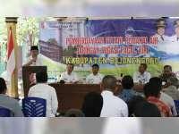 Pemkab Bojonegoro Gelar Pembinaan pada HIPPA dan GHIPPA, Jaringan Irigasi Pacal