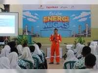 Siswa-Siswi SMAN 1 Kalitidu Bojonegoro Belajar Energi Migas Bersama EMCL