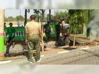 Kodim 0813 Bojonegoro Gelar Karya Bakti Serentak di Enam Wilayah Koramil