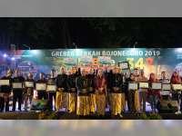 28 Perwakilan Seniman Terima Penghargaan dari Pemkab Bojonegoro, di Malam Grebeg Berkah