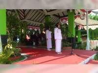 Bupati Pimpin Upacara Peringatan HJB ke-342 dan Hari Jadi Provinsi Jatim ke-74