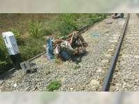 Bentor Ditabrak Kereta Api di Baureno Bojonegoro, Kakek Pengemudi Bentor Selamat
