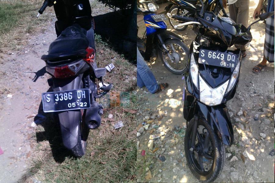 Dua Honda Beat Terlibat Kecelakaan Di Balen Seorang Pengendara Alami Patah Kaki Beritabojonegoro Com