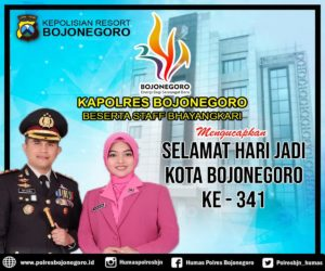 Polres Bojonegoro untuk Hari Jadi Bojonegoro ke-341