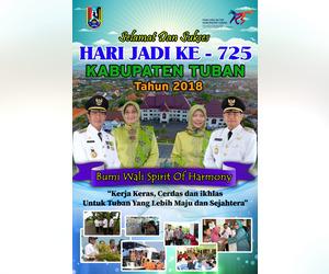 Pemerintah Kabupaten Tuban untuk Hari Jadi Tuban ke-725