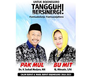 Pak Mul dan Bu Mit - Cabup dan Cawabup 2018-2023