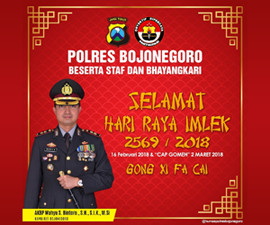 Polres Bojonegoro - Imlek 2018