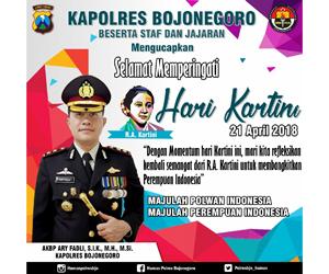 Polres Bojonegoro - Hari Kartini 2018