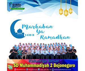 SDN Muhammadiyah 2 Bojonegoro - Ramadhan 1439H