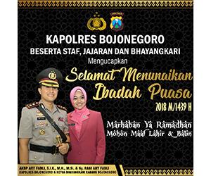 Polres Bojonegoro - Ramadhan 1439H